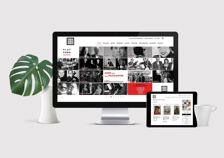 Website veilinghuis Bernaerts