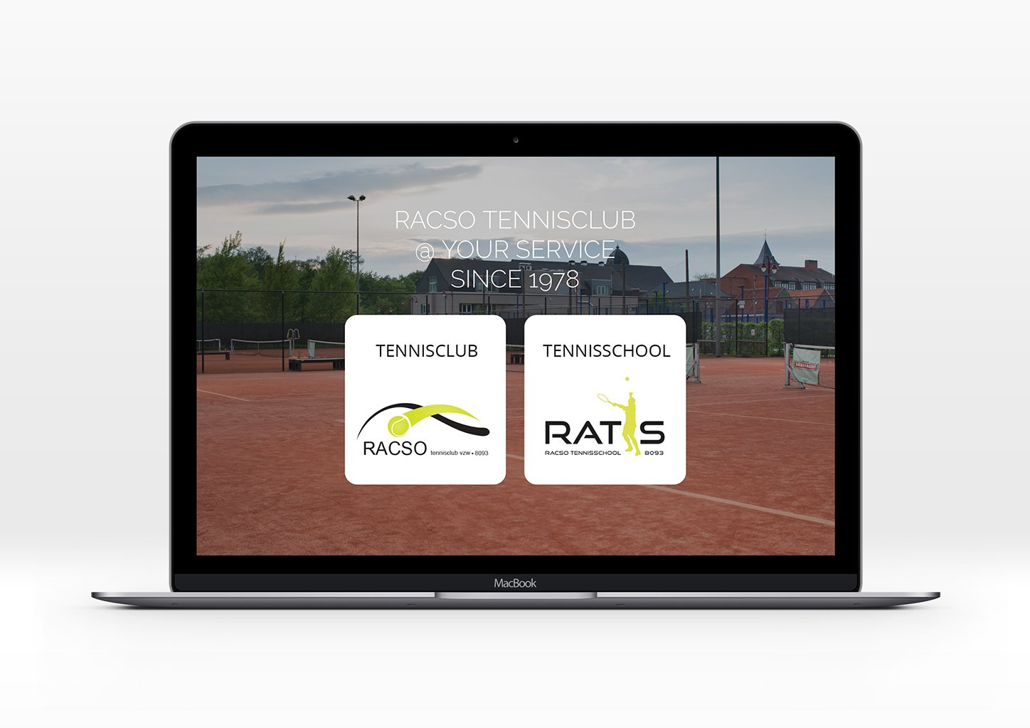 Website Rasco Tennisclub